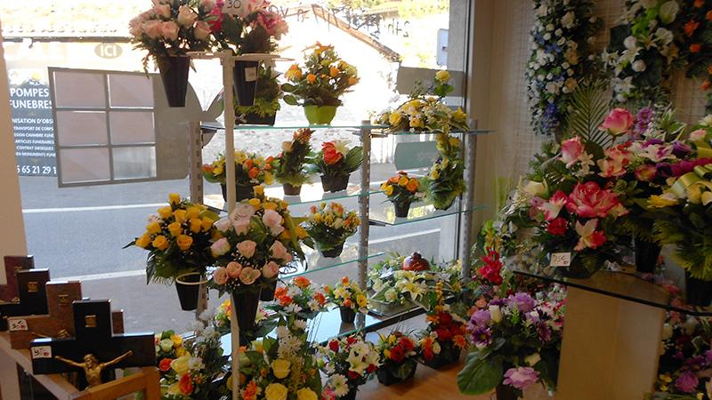 Magasin de fleurs